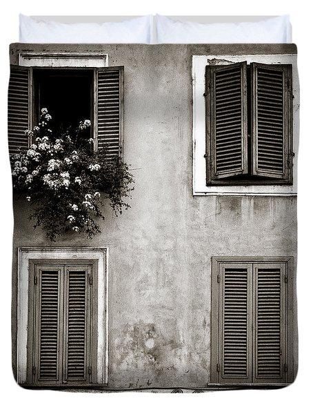Four Windows Duvet Cover by Dave Bowman