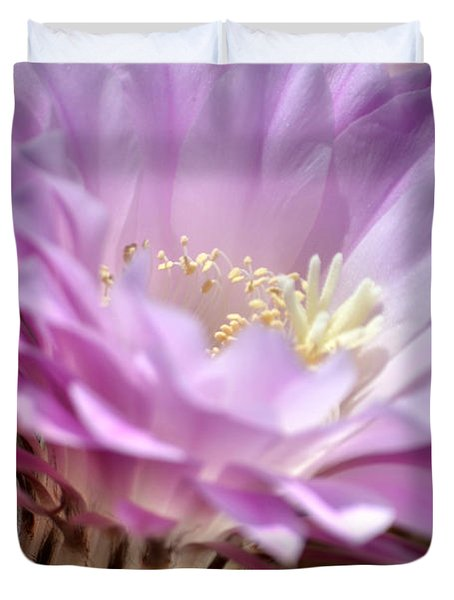 Fragile Beauty Duvet Cover by Deb Halloran