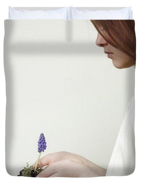 Fragile Spring Duvet Cover by Joana Kruse