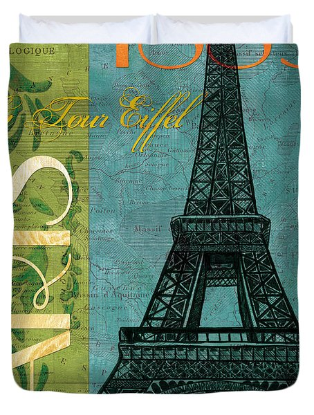Francaise 1 Duvet Cover by Debbie DeWitt
