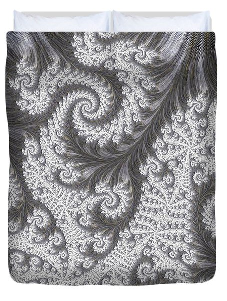 Franciful Frost  Duvet Cover by Heidi Smith