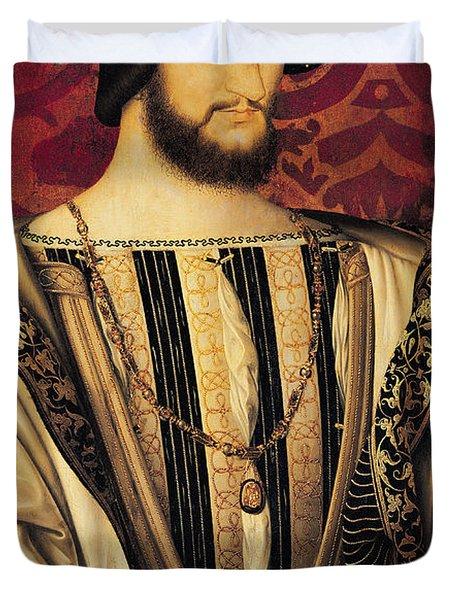 Francois I Duvet Cover by Jean Clouet