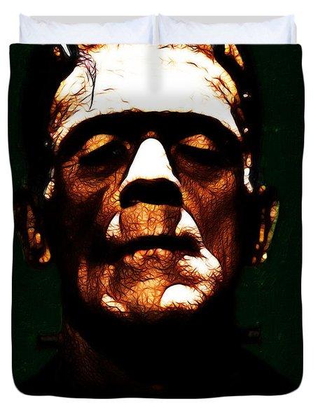 Frankenstein - Dark Duvet Cover by Wingsdomain Art and Photography