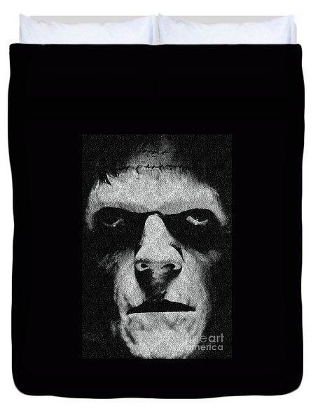 Frankenstein Duvet Cover by Janette Boyd
