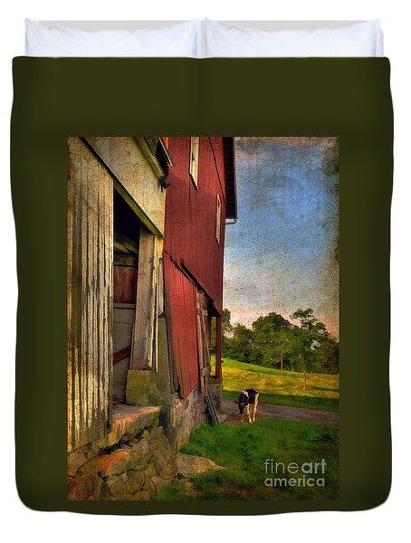Free Range Duvet Cover by Lois Bryan
