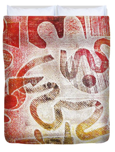 Free Will Duvet Cover by Yael VanGruber