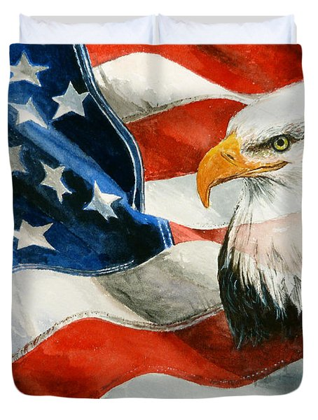 Freedom Duvet Cover by Andrew Read
