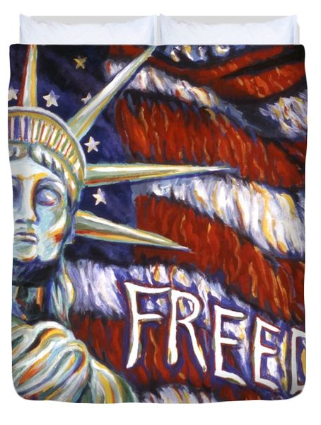 Freedom Duvet Cover by Linda Mears