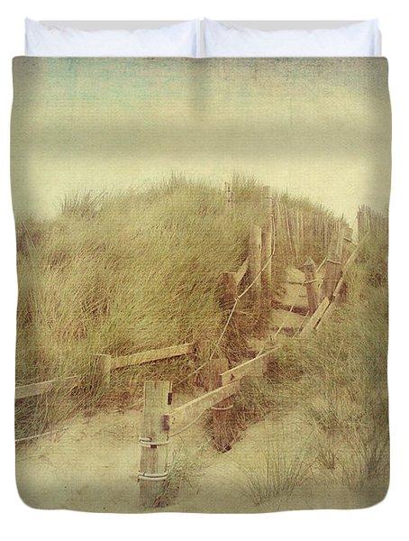 French Coast Beach #2 Duvet Cover by Svetlana Novikova