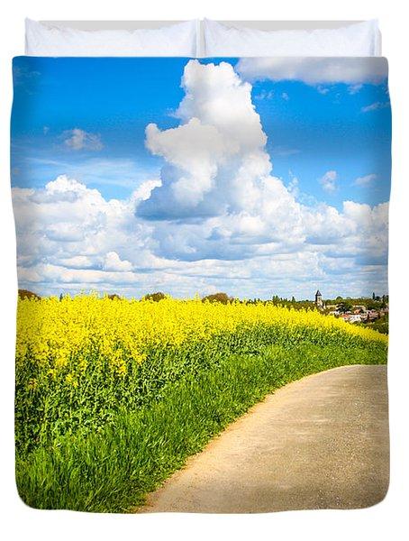 French Countryside Duvet Cover by Nila Newsom