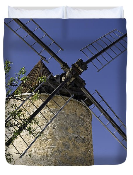 French Moulin Duvet Cover by Bob Phillips