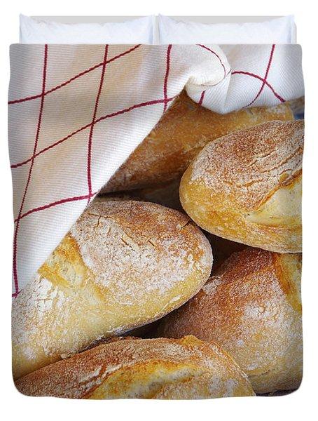 Fresh Bread Duvet Cover by Carlos Caetano