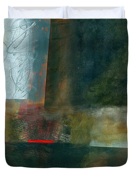Fresh Paint #8 Duvet Cover by Jane Davies