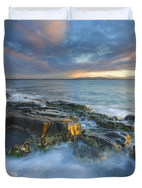Freycinet Cloud Explosion Duvet Cover by Mike  Dawson