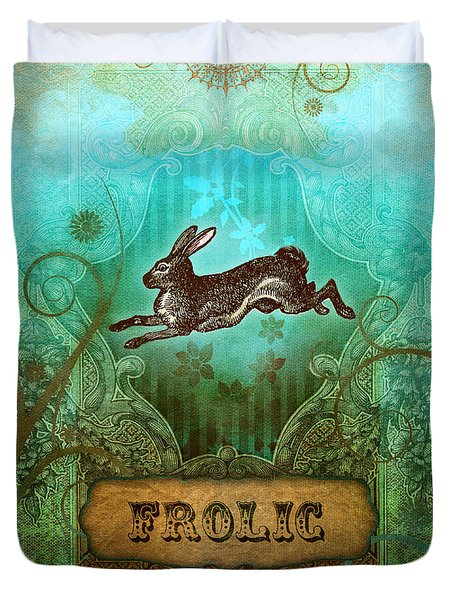 Frolic Duvet Cover by Aimee Stewart