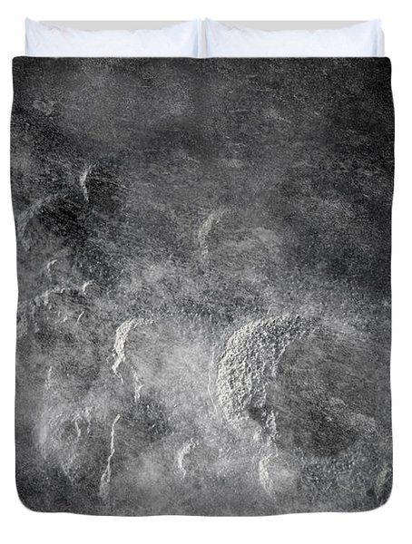 From Holes To Asteroids Duvet Cover by Loriental Photography