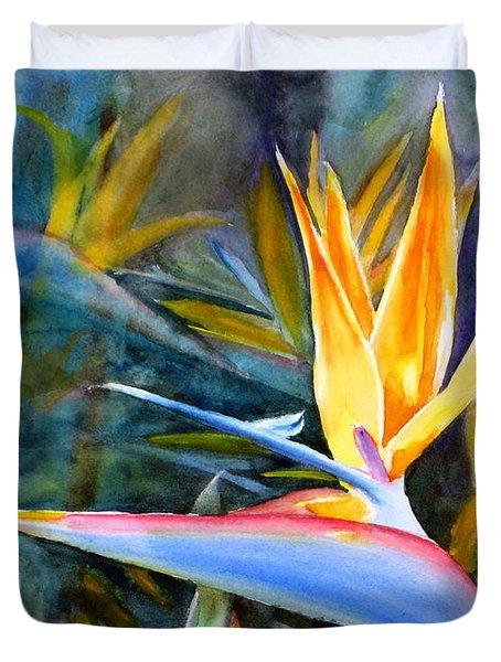 From Paradise Duvet Cover by Mohamed Hirji
