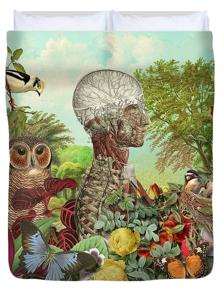 From The Garden Duvet Cover by Gary Grayson