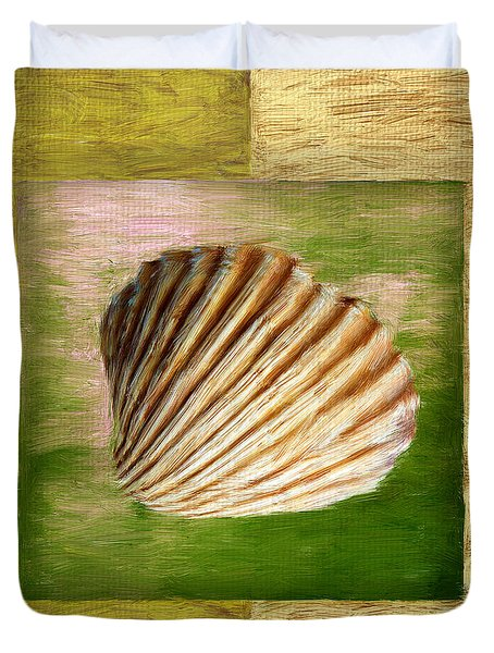 From The Sea Duvet Cover by Lourry Legarde