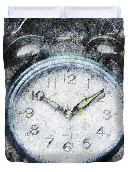Frozen In Time Duvet Cover by Skip Nall