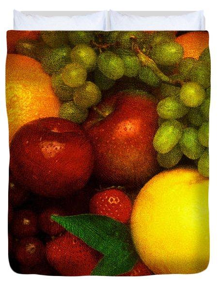 Fruit Duvet Cover by Mauro Celotti