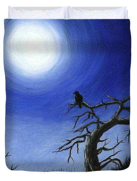 Full Moon Duvet Cover by Anastasiya Malakhova