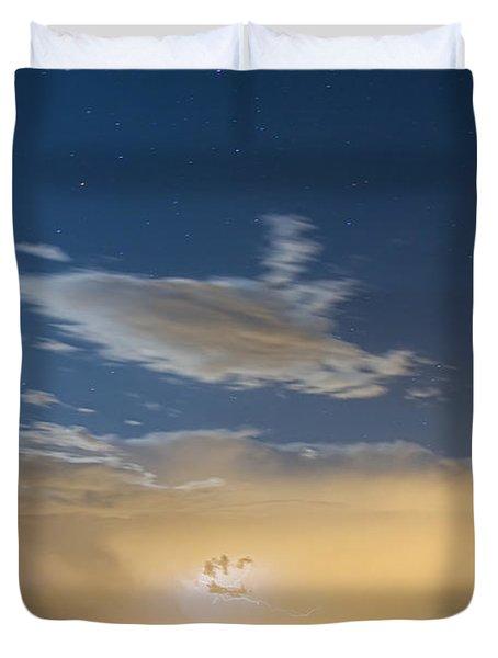 Full Moon Light Duvet Cover by James BO  Insogna