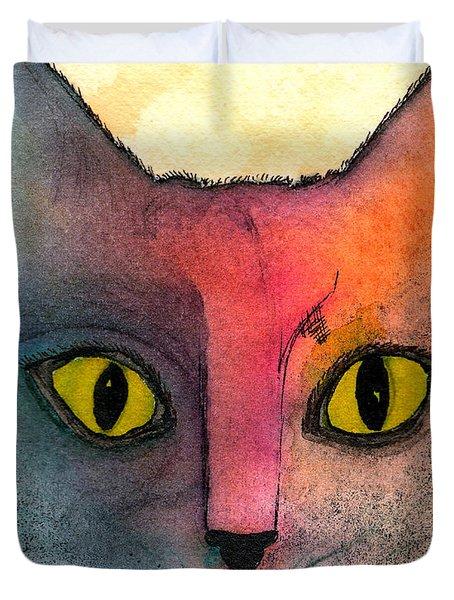 Fur Friends Series - Abby Duvet Cover by Moon Stumpp