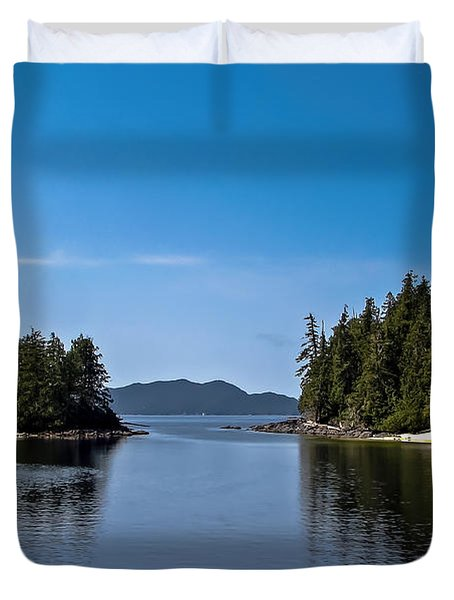 Fury Cove Duvet Cover by Robert Bales