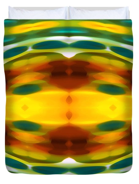Fury Pattern 5 Duvet Cover by Amy Vangsgard