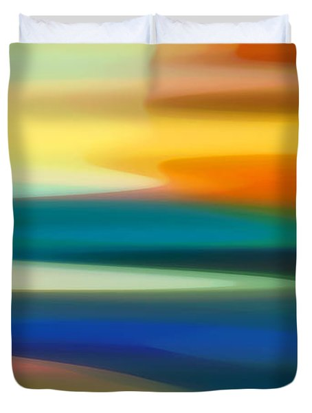 Fury Seascape II Duvet Cover by Amy Vangsgard