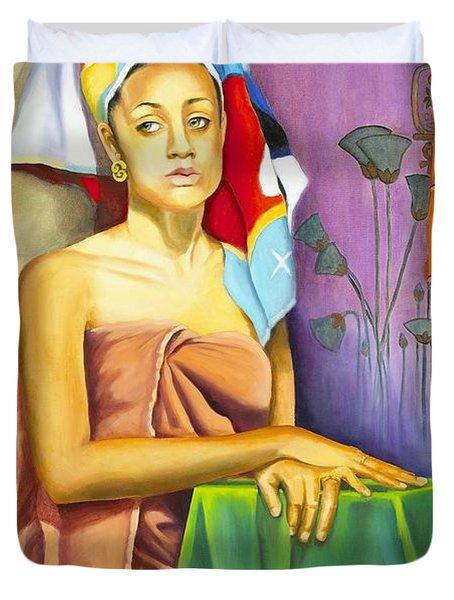 Gaby Duvet Cover by Marlene Book