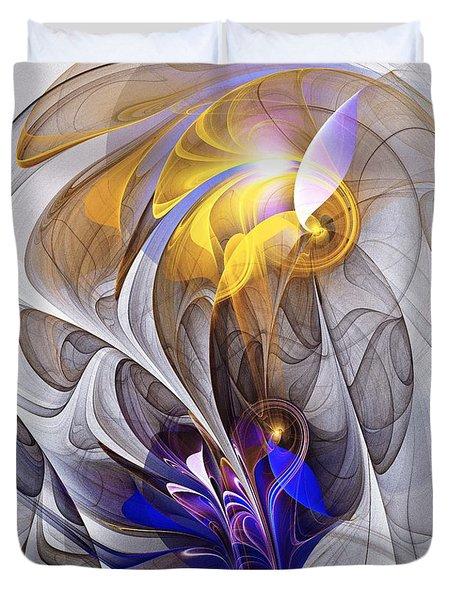 Galvanized Duvet Cover by Anastasiya Malakhova