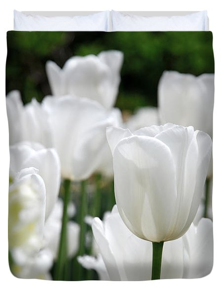 Garden Beauty Duvet Cover by Jennifer Lyon