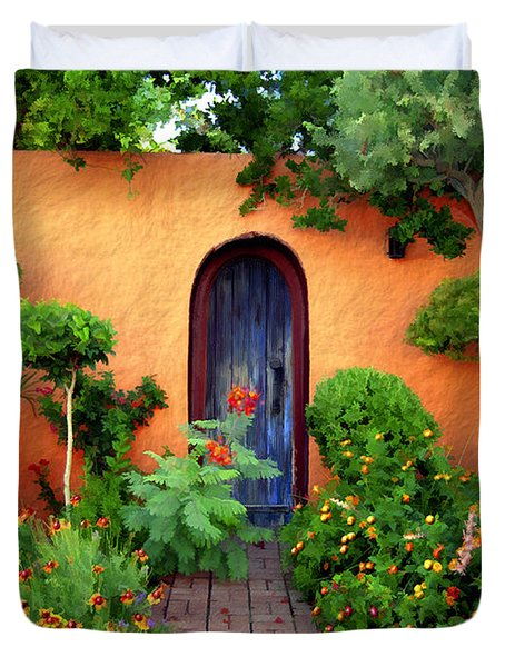 Garden Delights Mesilla Duvet Cover by Kurt Van Wagner