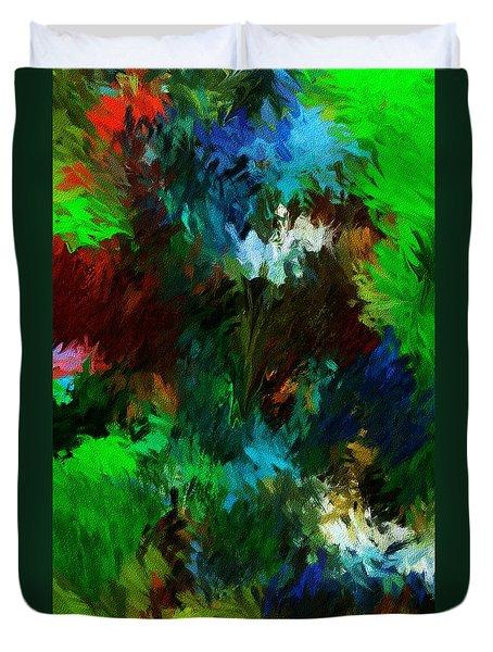 Garden In My Dream Duvet Cover by David Lane