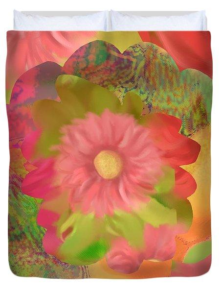 Garden Party Duvet Cover by Christine Fournier
