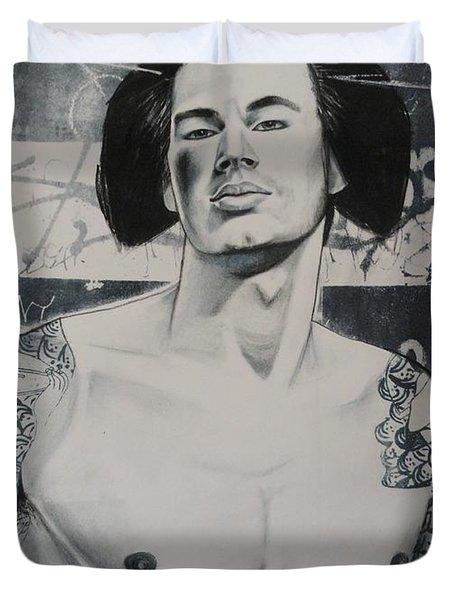 Gaysha Duvet Cover by Carmine Santaniello