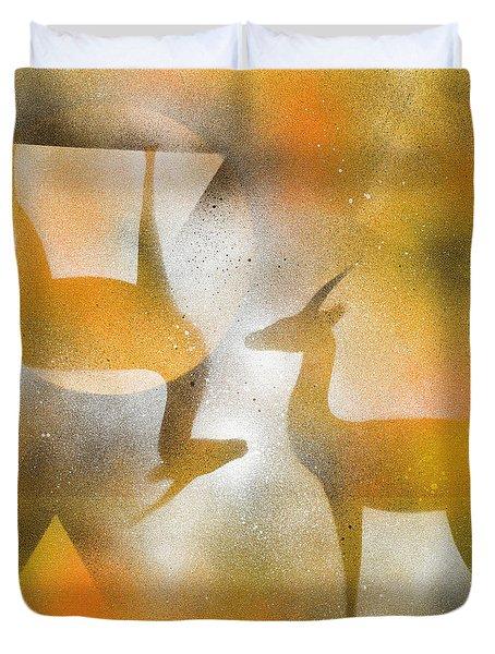 Gazelles Duvet Cover by Hakon Soreide