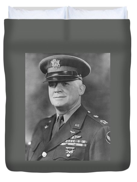 General Henry Hap Arnold Duvet Cover by War Is Hell Store