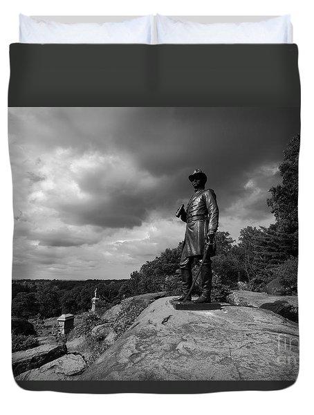 General Warrens Finest Hour Duvet Cover by James Brunker