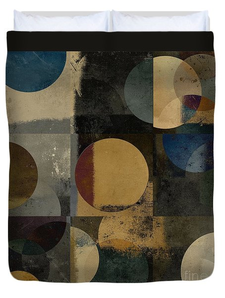 Geomix 01 - 111bt2a Duvet Cover by Variance Collections