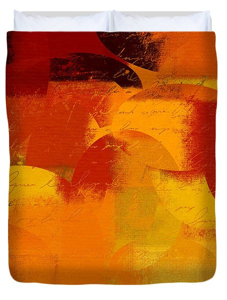 Geomix 05 - 01at01b Duvet Cover by Variance Collections