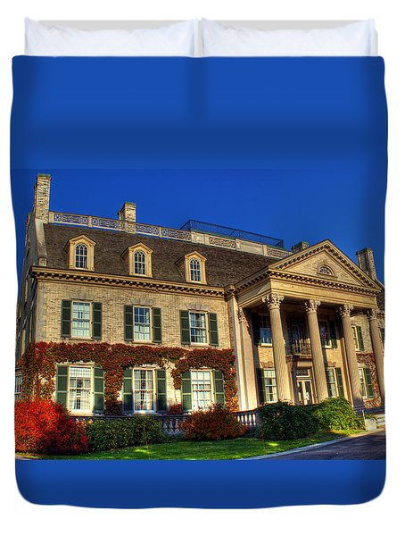 George Eastman House Hdr Duvet Cover by Tim Buisman