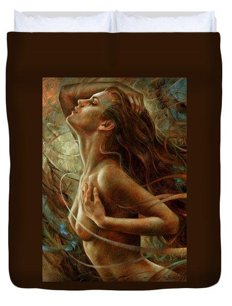 Getera Duvet Cover by Arthur Braginsky