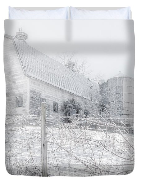 Ghost Barn Duvet Cover by Bill  Wakeley