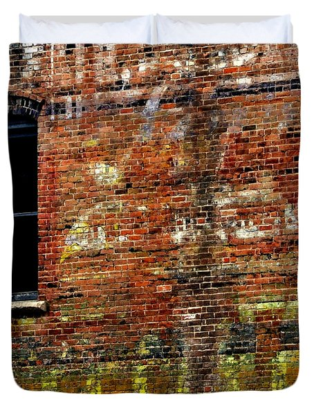 Ghost Sign 13469 3 Duvet Cover by Jerry Sodorff