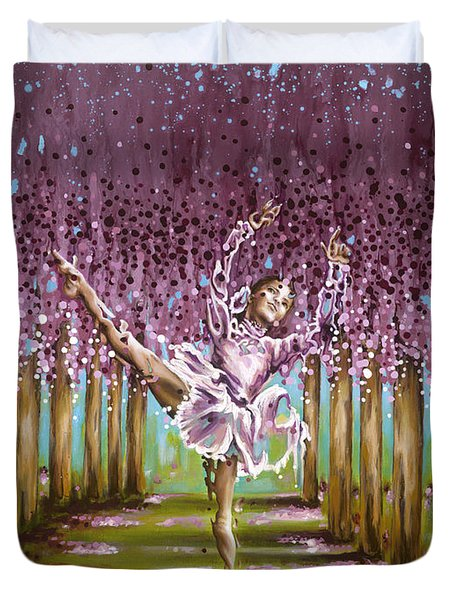 Blossom Duvet Cover by Karina Llergo Salto