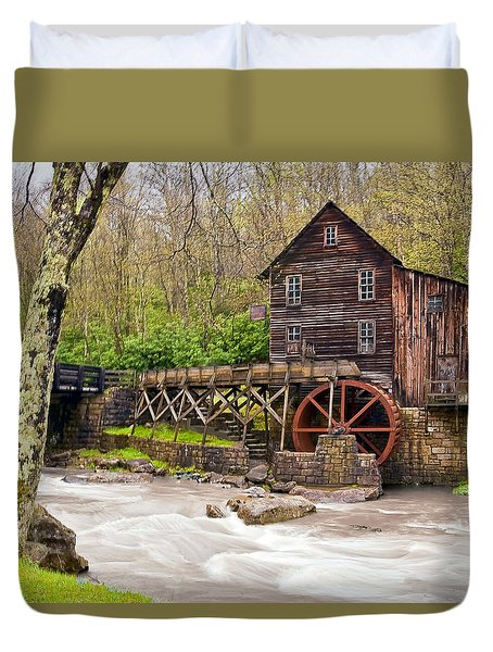 Glade Creek Duvet Cover by Marcia Colelli