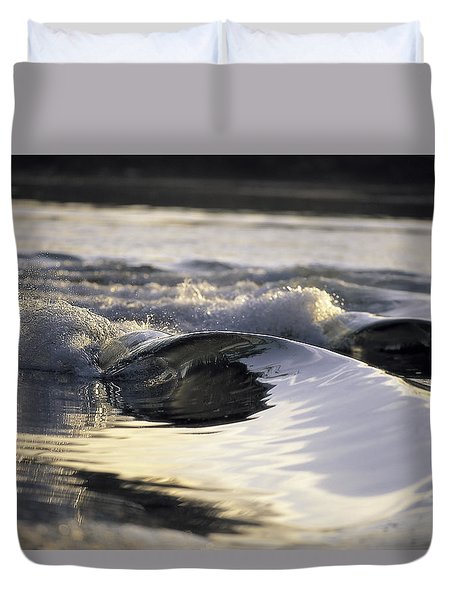 Glass Bowls Duvet Cover by Sean Davey